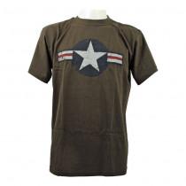 Tričko pánské - US Navy zelené