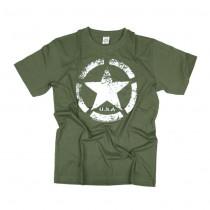 Tričko pánské US Navy zelené